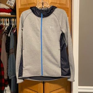 Under Armour Jackets & Coats - Under Armour | Hooded Zip Up Med